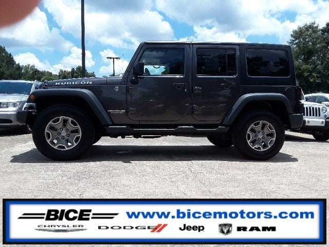 2014 Jeep Wrangler Unlimited Rubicon In Alexander City, AL   Bice Chrysler  Dodge Jeep Ram