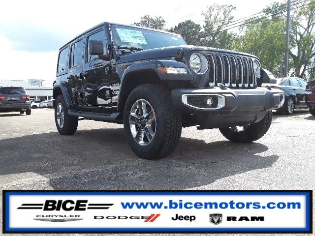 2018 Jeep Wrangler Unlimited Sahara in Alexander City, AL - Bice Chrysler Dodge Jeep Ram